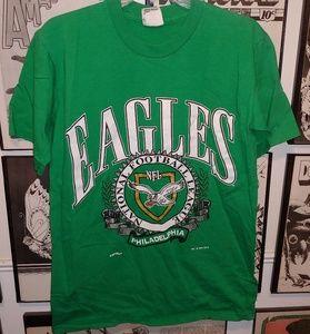 Vintage 1994 Philadelphia Eagles NFL Nutmeg Shirt